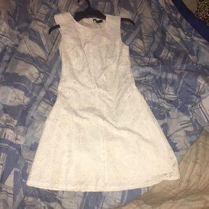 White lace dress (H&M)